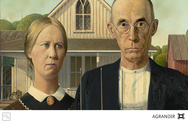 american gothic grant wood. Black Bedroom Furniture Sets. Home Design Ideas